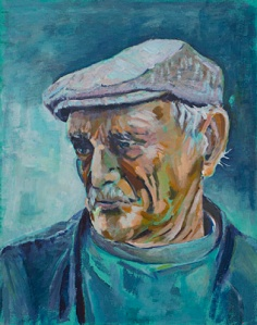 Greek Fisherman by Mona Storey
