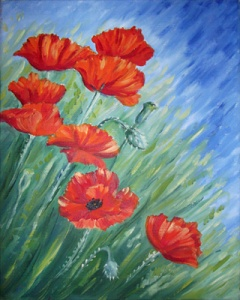 More Poppies by Mary Newman