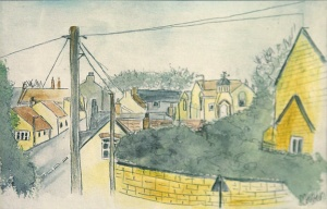View from my Window by Sally Coulter