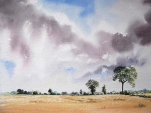 View Near Mareham Lane, Sleaford by Robin Hall