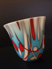 Kiln-formed glass by Sheila Pearce