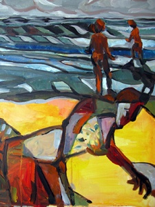 Beachcomber by Peter Skilton