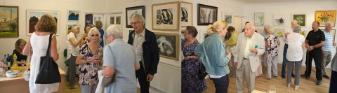 Private View and Presentation Evening