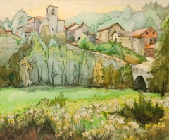 In the Auvergne by Ann Mackenzie