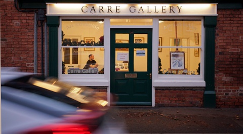 Carre Gallery, 29 Carre Street, Sleaford, Lincolnshire.
