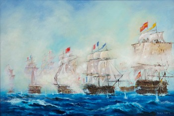 MWeston_BattleOfTrafalgar_500